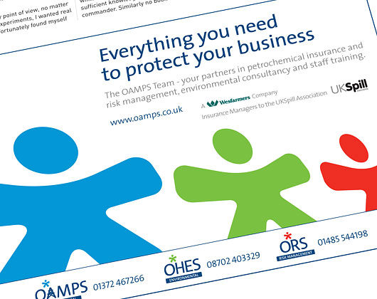 oamps group, advertising, advert, graphic design, bakewell, derbyshire, sheffield, chesterfield, manchester, derby