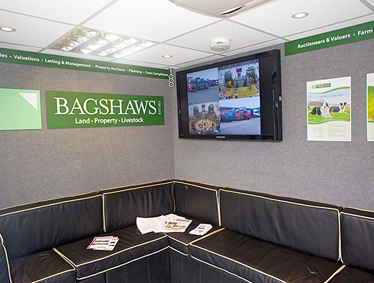 Bagshaws estate agent, property corporate hospitality unit