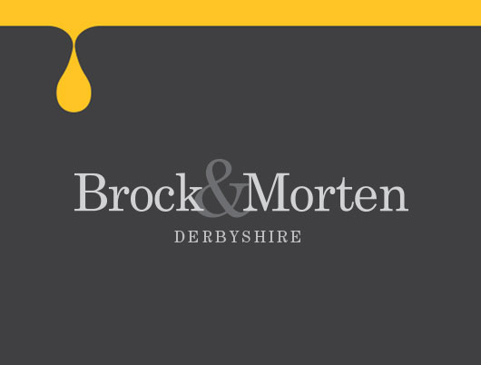 brock and morten cold pressed rapeseed oil, branding, logo design, derbyshire