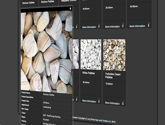 long rake spar website content management system design