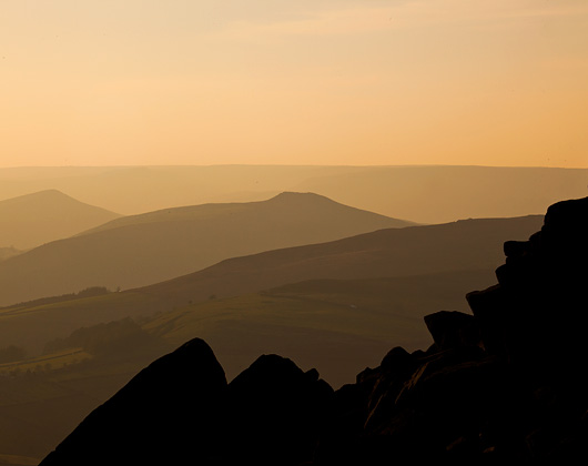 beautiful peak district landscape photography bakewell