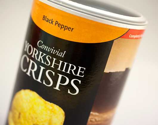 yorkshire crisps packaging design bakewell