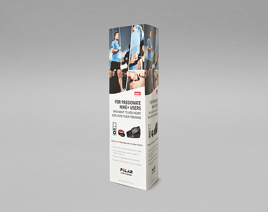 polar point of sale print design