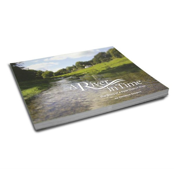 a river in time, book, publishers, publishing, derbyshire, sheffield, bakewell, chesterfield, print